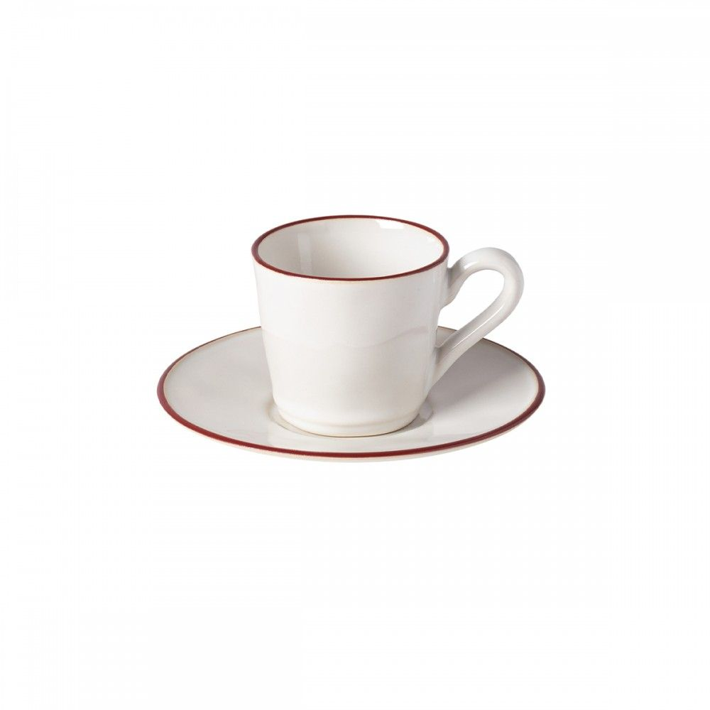 TEA CUP AND SAUCER 6 OZ. BEJA